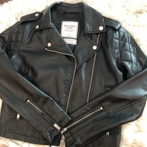 Abercrombie and Fitch Leather Jacket